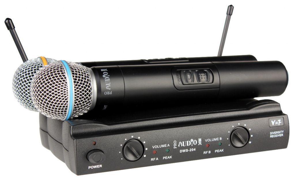 Бюджетные радиомикрофоны новое поступление. VHF - радиосистемы, Kombousilitel.ru