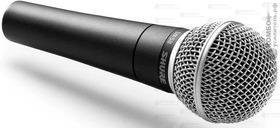 Shure SM58-LCE Динамический кардиоидный вокальный микрофон, Купить Kombousilitel.ru, Вокальные и универсальные микрофоны