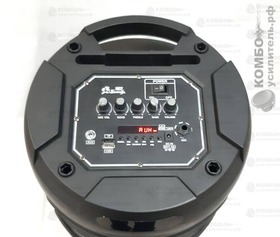 Активная колонка Faus SJ2801 с микрофоном и аккумулятором USB/SD/Bluetooth/FM/AUX, Купить Kombousilitel.ru, Активная акустика