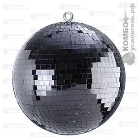 XLine MB-112 Mirror Ball-30 Черный зеркальный шар, диаметр 300мм, Купить Kombousilitel.ru, Зеркальный шар