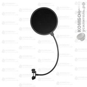 Bespeco FPOP01 Регулируемый ветрозащитный экран для микрофона на гусиной шее с креплением на стойку, Купить Kombousilitel.ru, Аксессуары для микрофонов