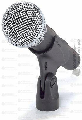 Shure SM58S Динамический кардиоидный вокальный микрофон (с выключателем), Купить Kombousilitel.ru, Вокальные и универсальные микрофоны