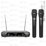 XLine MD-2300 Радиосистема c двумя ручными передатчиками, Купить Kombousilitel.ru, Микрофоны беспроводные
