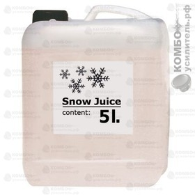 ADJ Snow Juice 5 Liter Жидкость для создания снега, Купить Kombousilitel.ru, Жидкости