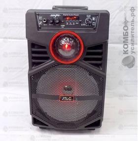 JTLC JT819 Портативная колонка Микрофон провод, Пульт, кабель mUSB USB/ mSD/ BT/ FM/ AUX/ LED, Купить Kombousilitel.ru, Активная акустика