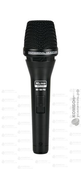 XLine MD-100 PRO Микрофон вокальный динамический, Купить Kombousilitel.ru, Вокальные и универсальные микрофоны